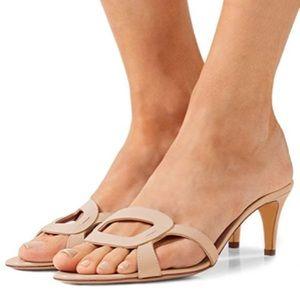 ⚠️ FINAL PRICE DROP Nude Kitten Heel Sandals